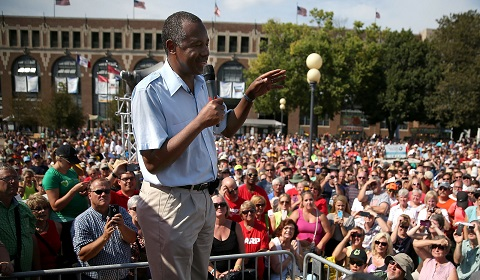 US politics update: Retired top US neurosurgeon Ben Carson on the rise, latest poll