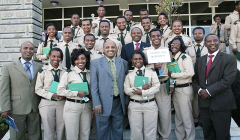 Ethiopian Aviation Academy graduated 19 pilots include one Ghanaian