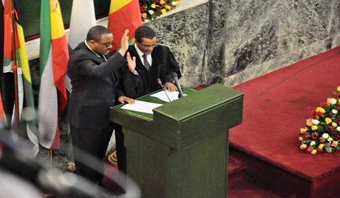 EPRDF re-elected PM Hailemariam Desalegn for a second term and appointed new ministers