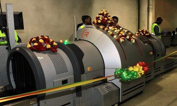 U. S. donated airport security check machines to Ethiopian Airlines