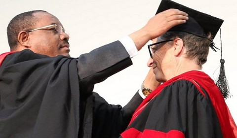 gates receives degree